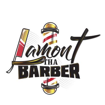 Lamont The Barber Logo