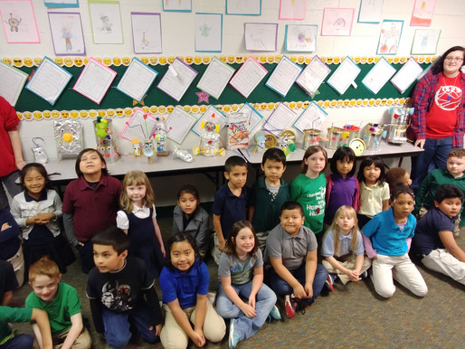 CyberCards Help Reinforce Writing in First Grade Classrooms