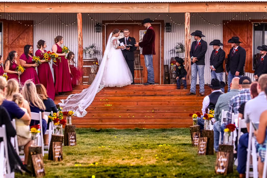 Rustic Charm on your Wedding Day
