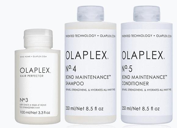 OLAPLEX  TAKE HOME TREATMENT KIT #3 #4 #5 Three Pack