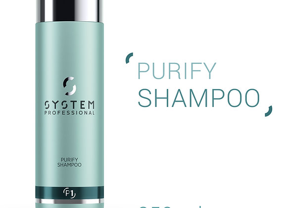 SYSTEM PROFESSIONAL (P1) PURIFY SHAMPOO DANDRUFF CLEANSING & PROTECTION 250ml