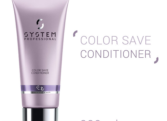 SYSTEM PROFESSIONAL (C2) COLOR SAVE CONDITIONER LUMINOUS PROTECTION CREAM 200ml