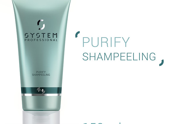 SYSTEM PROFESSIONAL (P4) PURIFY SHAMPEELING INTENSIVE DANDRUFF REMOVAL 150ml