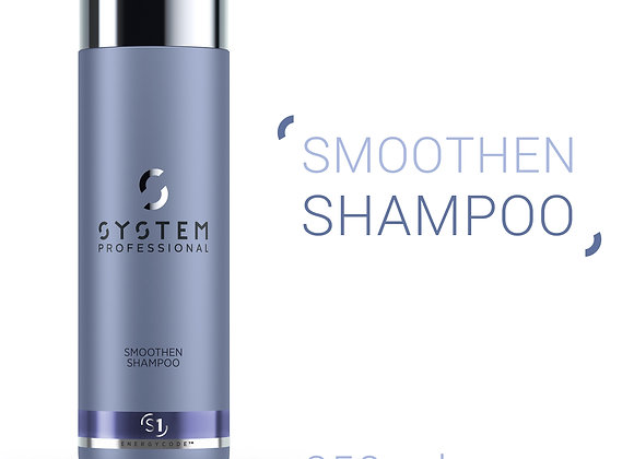 SYSTEM PROFESSIONAL (S1) SMOOTHEN SHAMPOO HAIR STRUCTURE SOFTENER