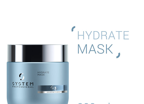 SYSTEM PROFESSIONAL (H3) HYDRATE MASK DEEP MOISTURE RESTORATION