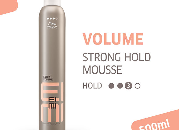EIMI EXTRA VOLUME STRONG HOLD MOUSSE 500ML