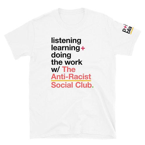The Anti-Racist Social Club Official T-Shirt [White]
