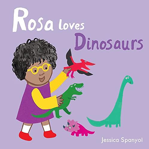 Rosa Loves Dinosaurs // Rosa Loves Cars