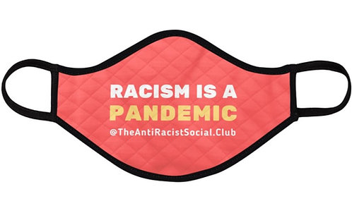 The Anti-Racist Social Club Official Face Mask