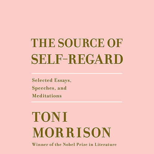 The Source Of Self-Regard: Selected Essays, Speeches & Meditations