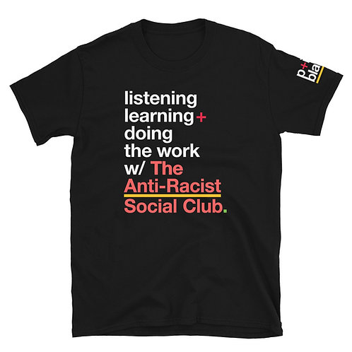 The Anti-Racist Social Club Official T-Shirt [Black]