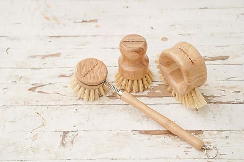 Zero Waste Cleaning Brush Set