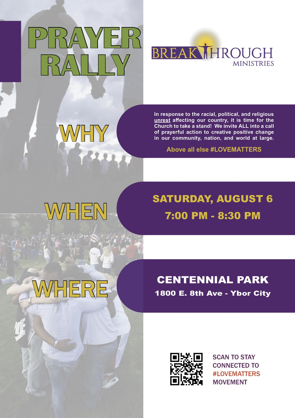 Flyer - Prayer Rally