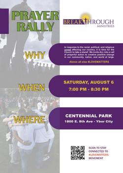 Flyer - Prayer Rally
