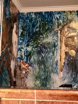 Gemälde für ein Badezimmer