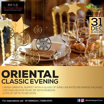 Client : The Oriental Blossom, Radha Regent Hotel