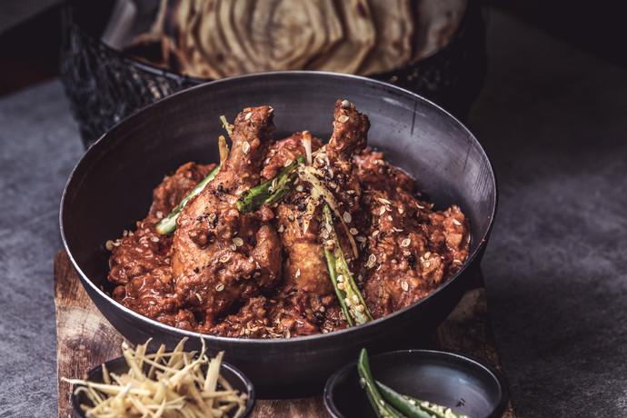 Chicken shinwari kadhai.JPG