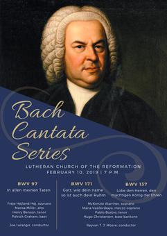 Bach Cantata Series