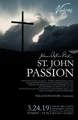 Voices: St. John Passion