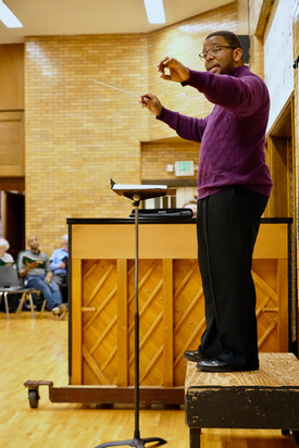 Eastman-Rochester Chorus Rehearsal