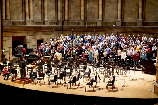 Eastman Rochester Chorus and Eastman Chorale