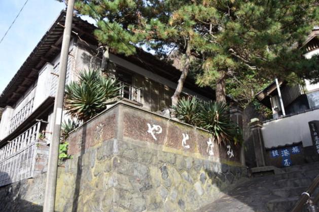 「港屋旅館」が踊り子の里資料館として公開されている