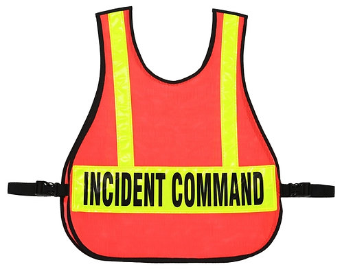 R&B Fab 003 Command Vest For IC Triage/MC System w/ Reflective Strips