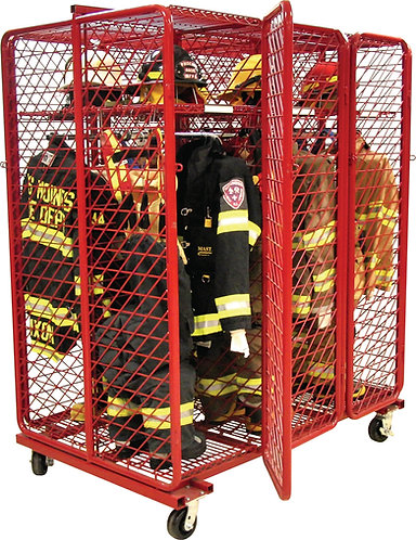 Ready Rack RMSS-3/18 Mobile Red Rack
