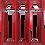 Thumbnail: Ready Rack RRWM-3/18 Wall Mounted Red Rack