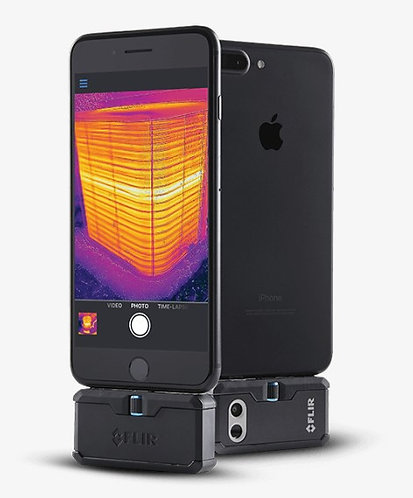FLIR ONE PRO for iPhone (iOS) w/MSX 160 x 120 Resolution/9Hz