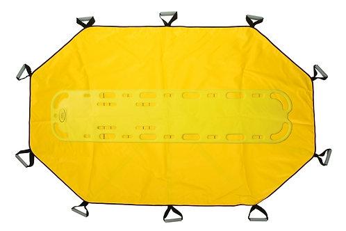R&B Fab 181YL-BB Bariatric Transfer Sheet w/ Backboard Insert