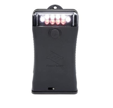 FOXFURY 301-004 SCOUT CLIP LIGHT WITH WHITE AND RED LEDS