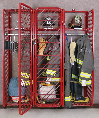 Ready Rack RRWM-3/18 Wall Mounted Red Rack