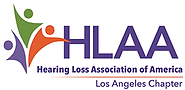 Logo of the California Los Angeles chapter of the hearing loss association of america