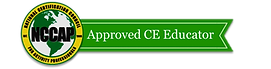 Logo showing that the website online course is an Approved CE Educator