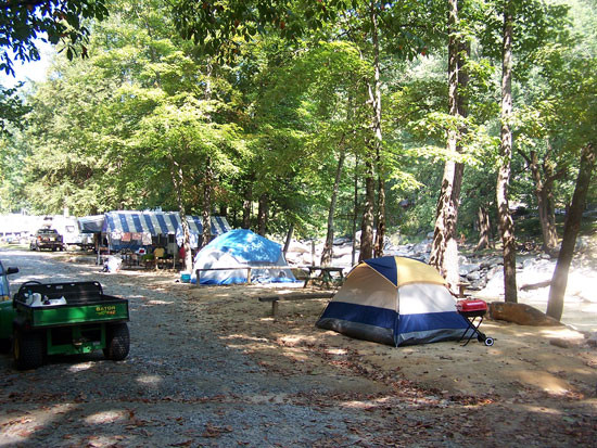 Hickory Nut Gorge Campground