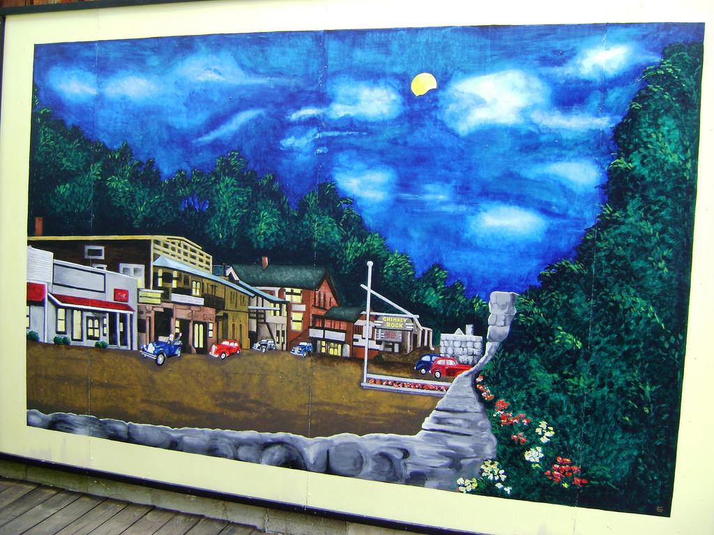 Chimney Rock Village Mural