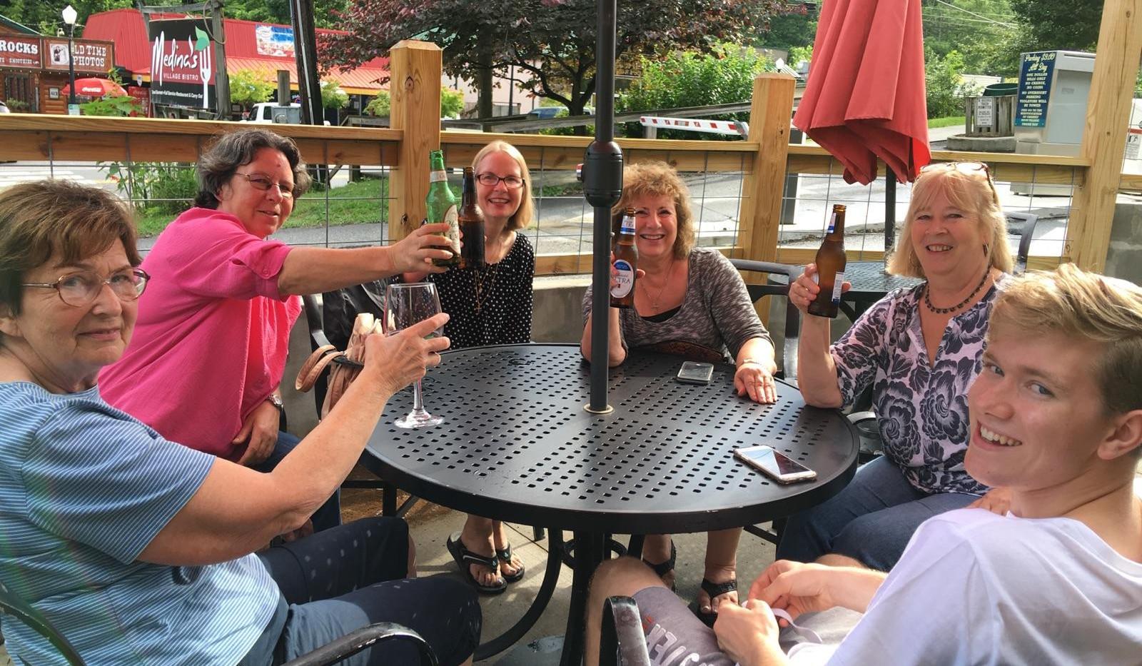 Around the table at medinas.jpg
