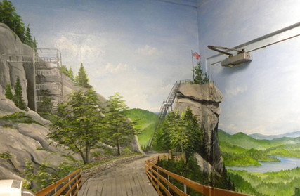 CRSP Bathroom Mural