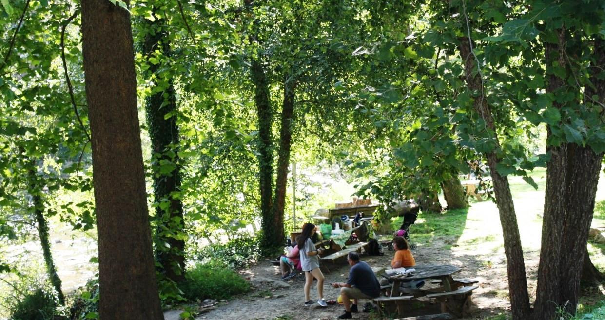 Chimney Rock Riverside Park View