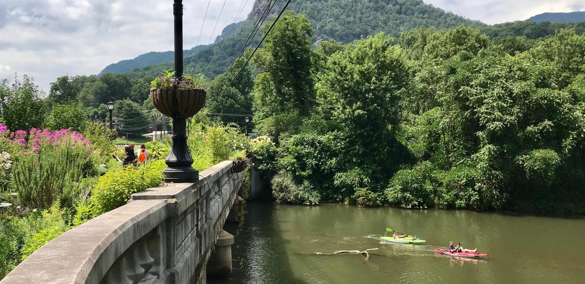 Lake Lure Flowering Bridge