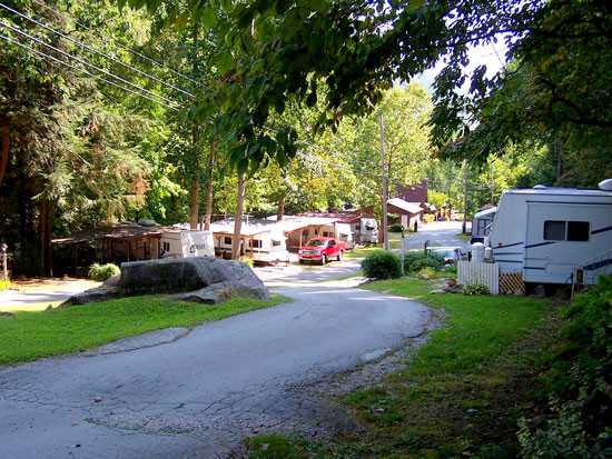 HNG Campground Seasonal RV Sites