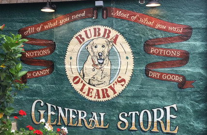 Bubba's Art Mural
