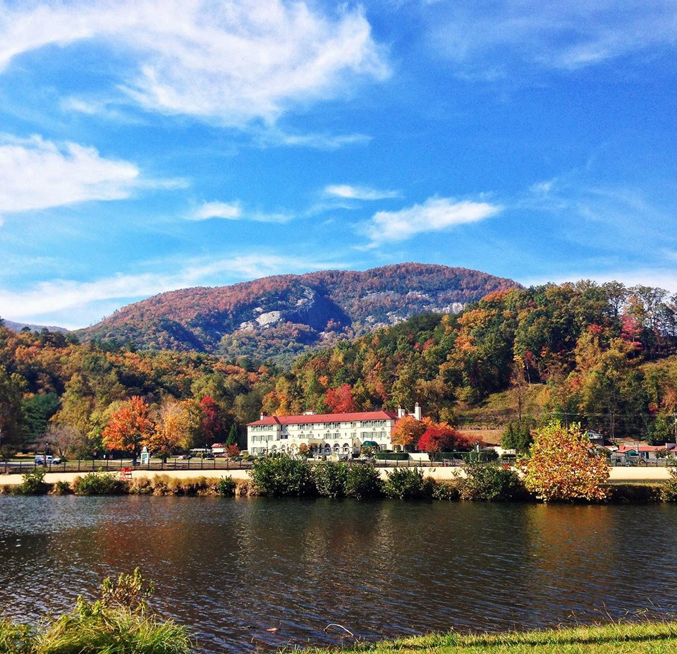 Lake Lure Inn Fall