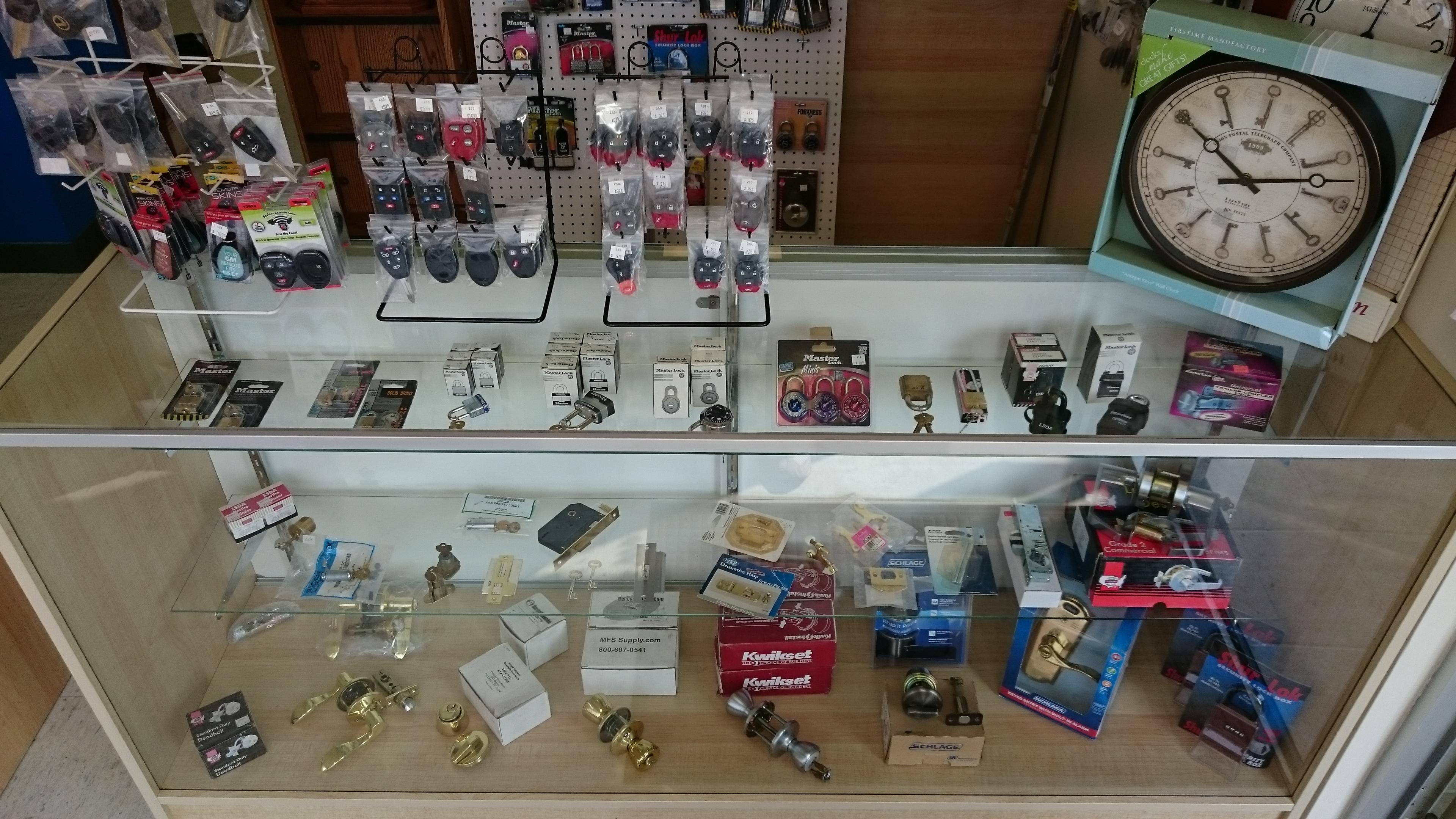 Locks and Lock Parts