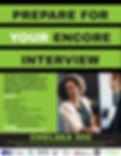 Prepare for Your Encore Interview