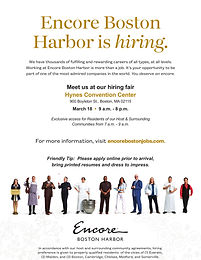 Encore Boston Harbor Career Fair
