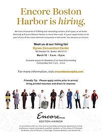 Encore Boston Harbor Career Fair