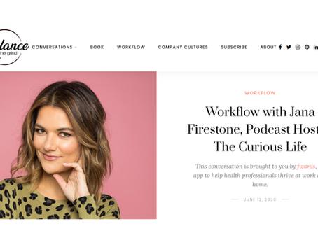 Interview: Balance the Grind Workflow Series