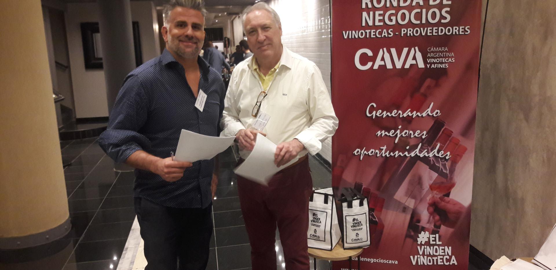 SEBASTIÁN MACHAIN DE VINOMIO Y CARLOS CARRACEDO DE SEGUNDO CICLO